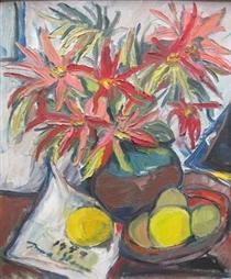 Still Life with Lillies - Irma Stern
