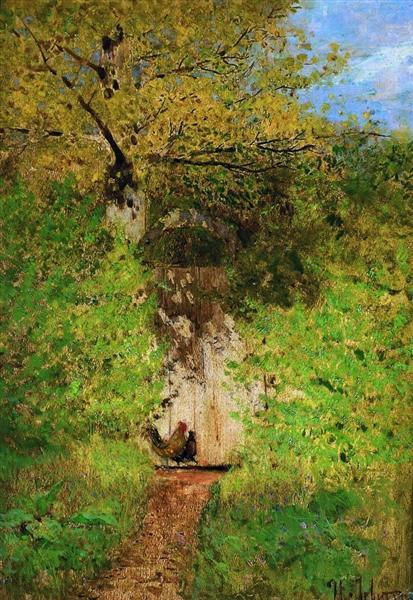 A path, c.1885 - Isaac Levitan