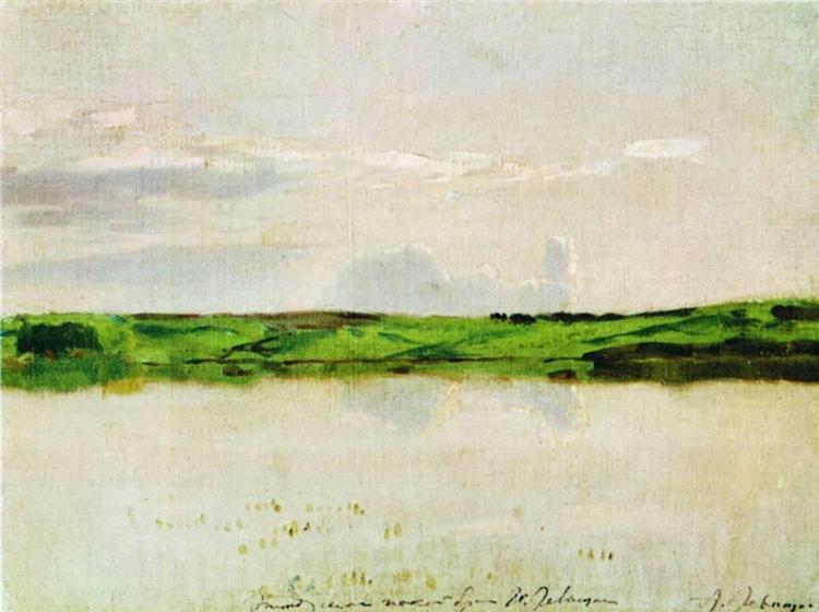 Calm summer evening, 1894 - Isaac Levitan