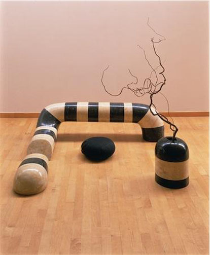 Floor Frame (Remembering India), 1970 - Isamu Noguchi