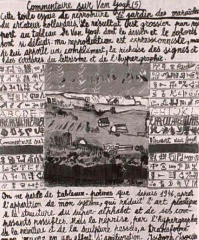 Comment on Van Gogh (V.), 1985