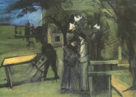 Night Scene, 1939 - Istvan Farkas