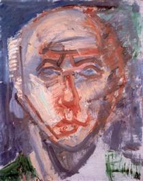 Self-portrait in White - Иштван Илошваи Варга