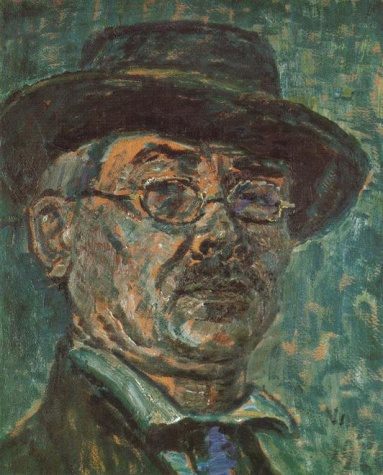 Self-portrait, 1920 - Istvan Nagy