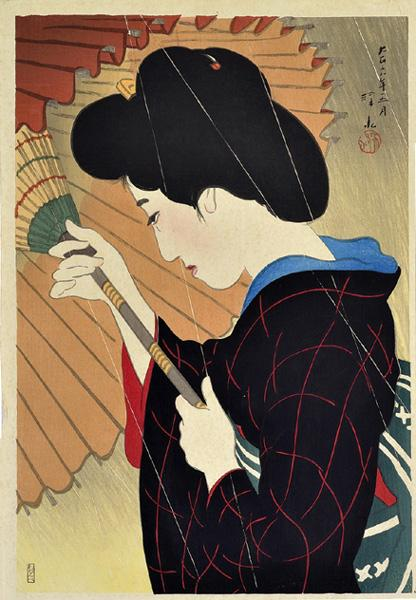 Passing Rain, 1917 - Ito Shinsui