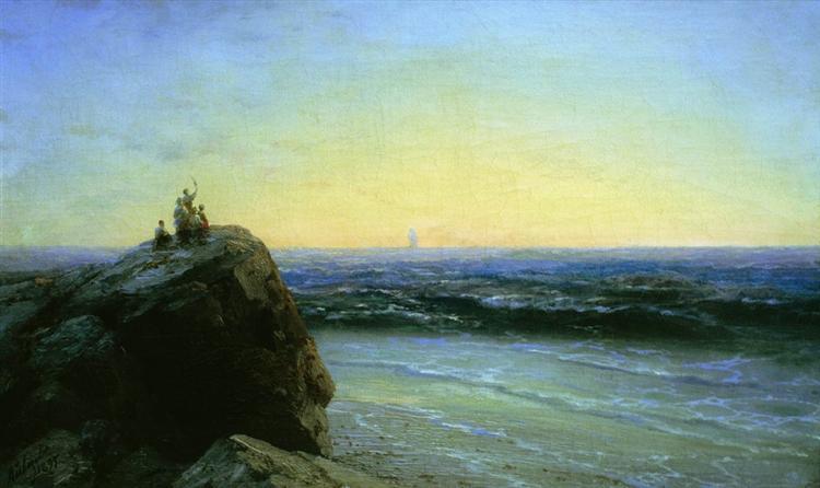Farewell, 1895 - Ivan Aïvazovski