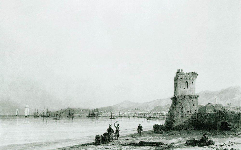 The tower of Genoa, 1845