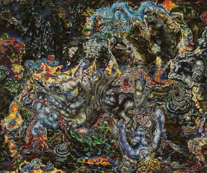 The Temptation of St. Anthony, 1944 - 1945 - Ivan Albright