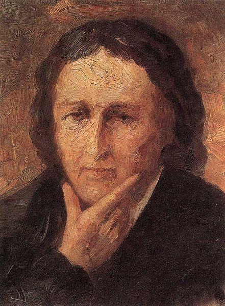 Portrait of France Preseren - Ivan Grohar