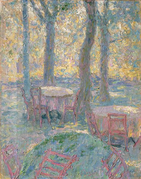 Štemarski Garden, 1907 - Ivan Grohar