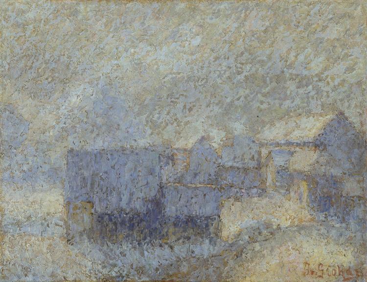 Zimsko jutro, 1911 - Ivan Grohar