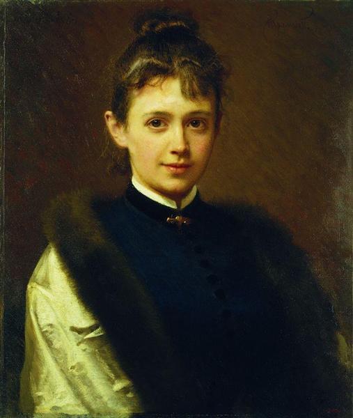 Portrait of a Woman, 1884 - Ivan Kramskoy