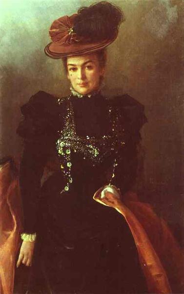 Portrait of an Unknown Woman, 1886 - Ivan Kramskoy
