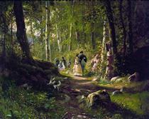 A Walk in the Forest - Іван Шишкін
