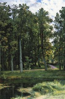 Forest road - Іван Шишкін