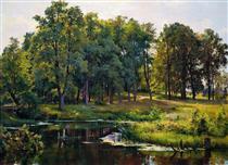 В парке - Иван Шишкин
