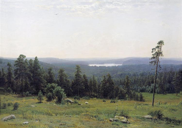 The Forest Horizons, 1884 - Ivan Shishkin
