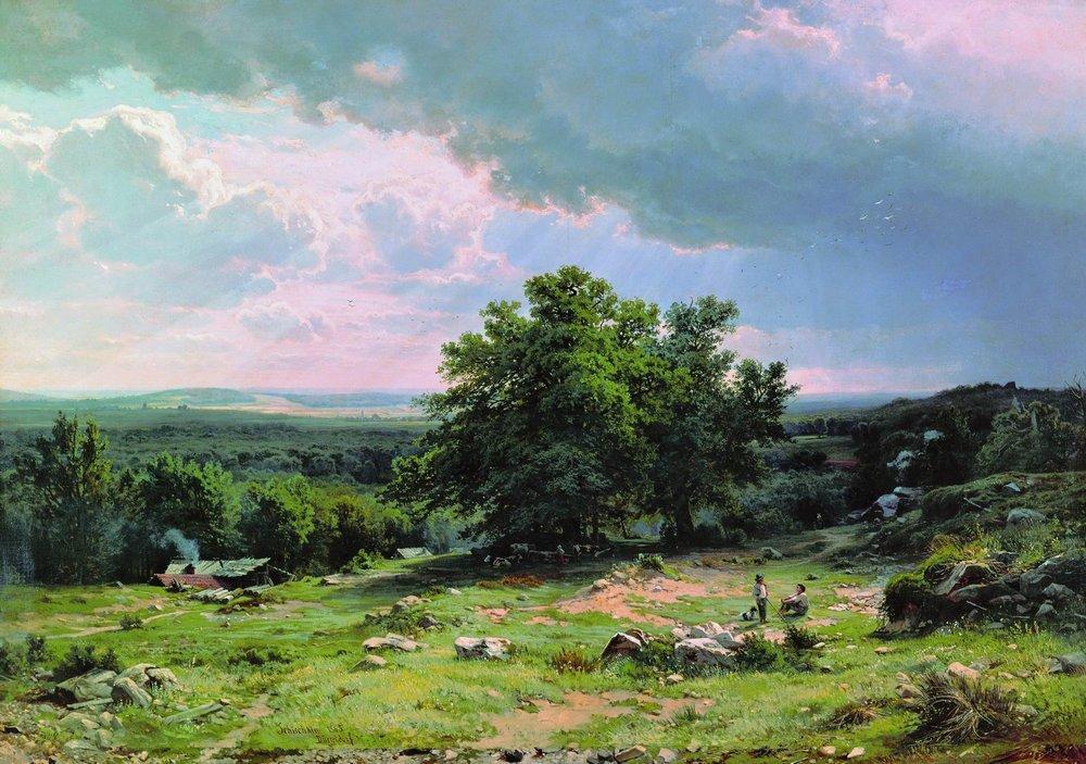 Картинки по запросу Иван Шишкин Вид в окрестностях Дюссельдорфа» (1865,