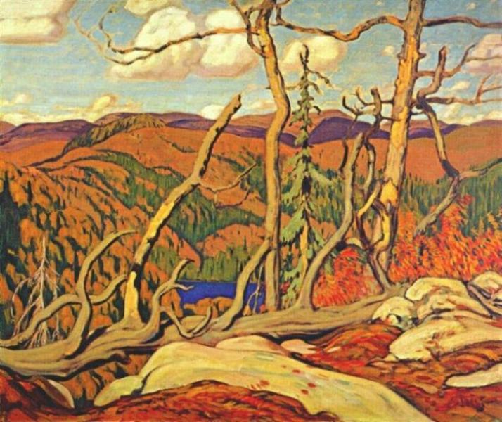 Northland Hilltop, 1931 - J. E. H. MacDonald
