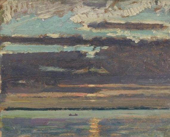 Sunset, Lake Simcoe, 1919 - J. E. H. MacDonald