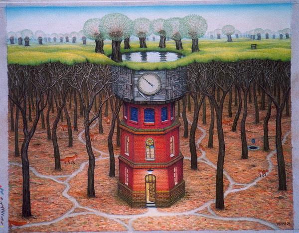 Subconscious tower, 2004 - Яцек Йерка