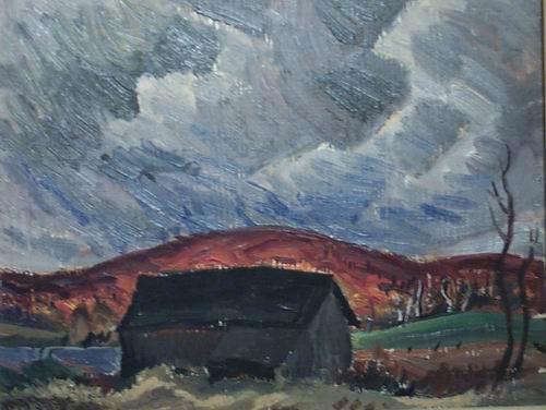 A Barn, 1944 - Jack Bush