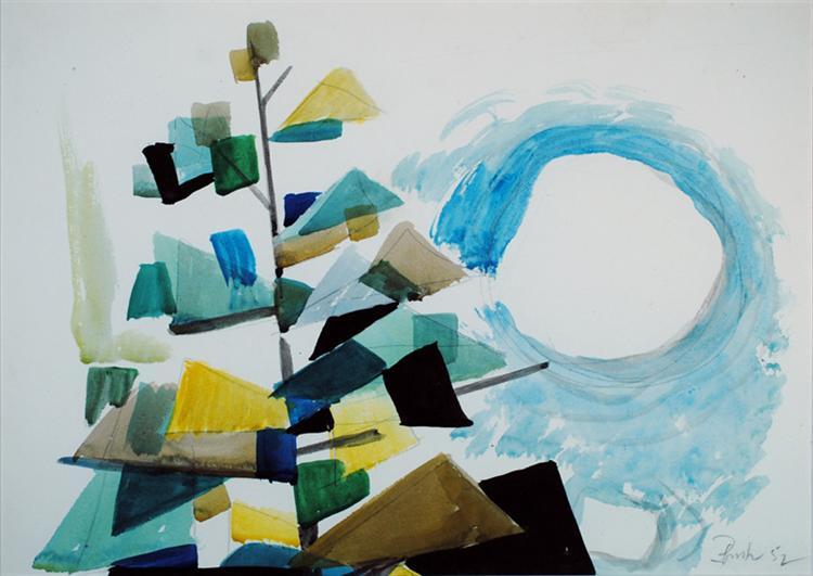 Untitled (WC127), 1952 - Jack Bush