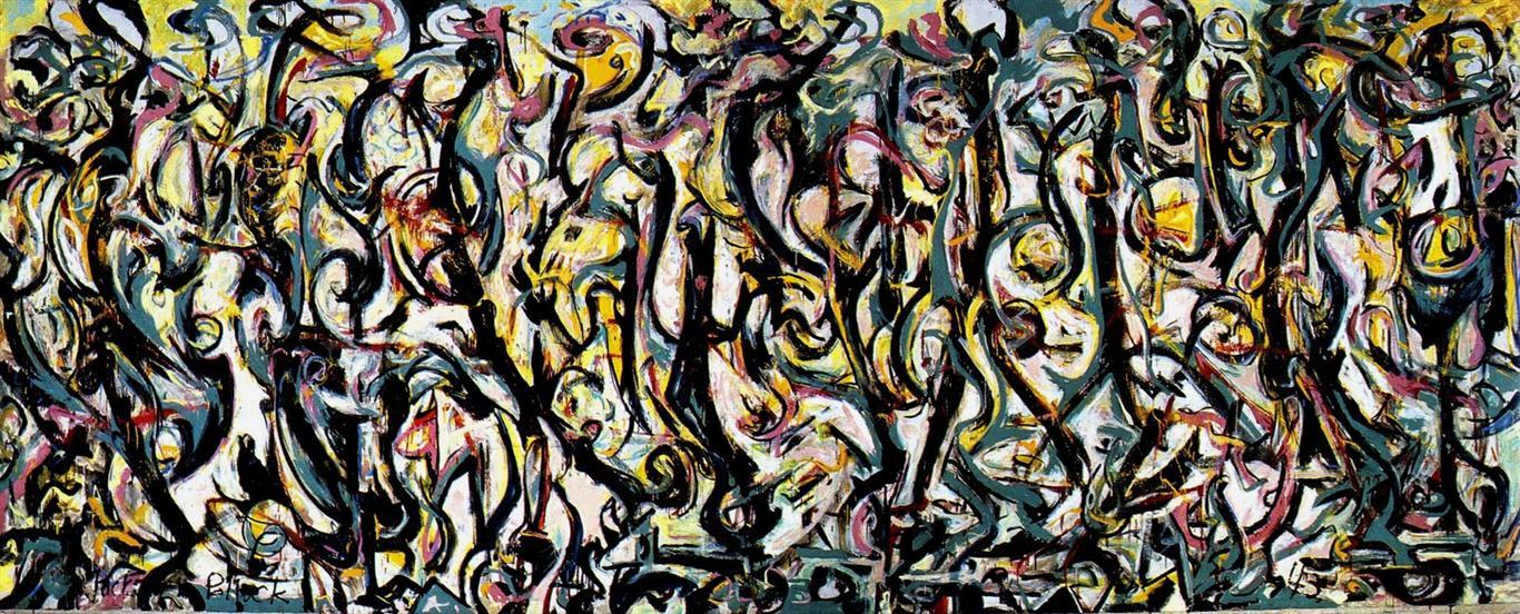 jackson pollock abstract
