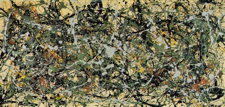 Number 8, 1949 - Jackson Pollock