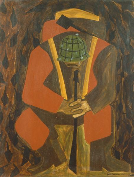 War Series: Victory, 1947 - Джейкоб Лоуренс
