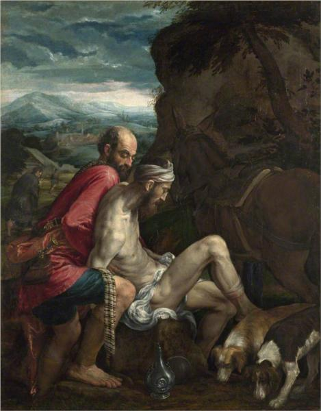 The Good Samaritan - Jacopo Bassano