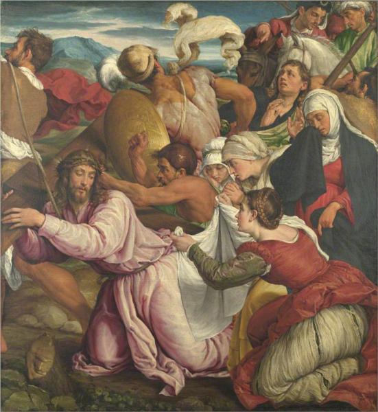 The Way to Calvary, 1545 - Jacopo Bassano