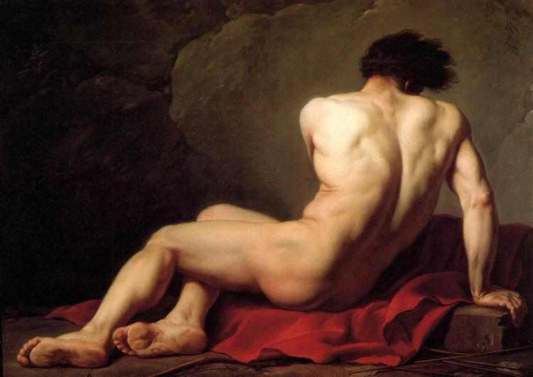 Patrocles, 1780 - Jacques-Louis David