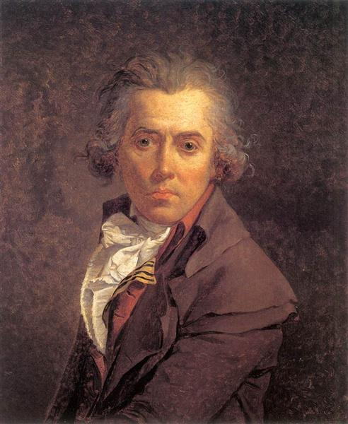 Self Portrait, 1791 - Jacques-Louis David