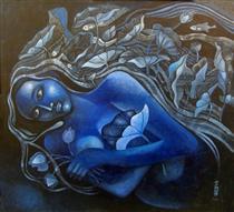 Lotus Girl - Jahar Dasgupta