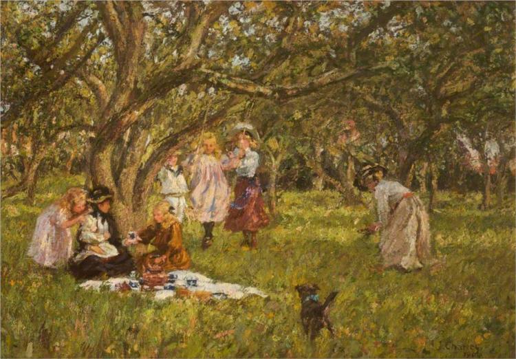 The Picnic, 1904 - James Charles