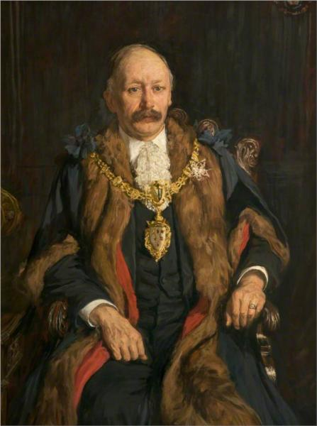 William Bolton, JP, Mayor of Warrington, 1905 - James Charles