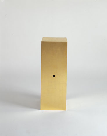 The Golden Box for Speaking, 1978 - James Lee Byars