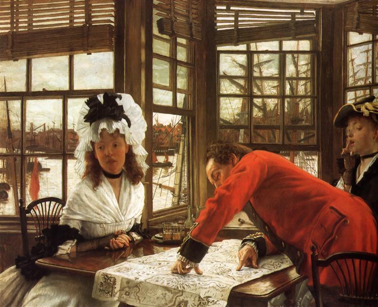 An Interesting Story, 1872 - James Tissot
