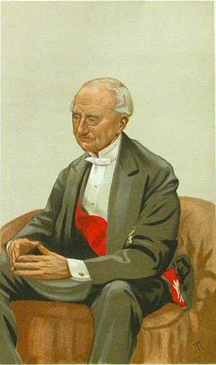 Caricature of Admiral Sir Hastings Reginald Yelverton, 1877 - James Tissot