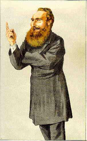 Caricature of Anthony John Mundella, 1871 - James Tissot