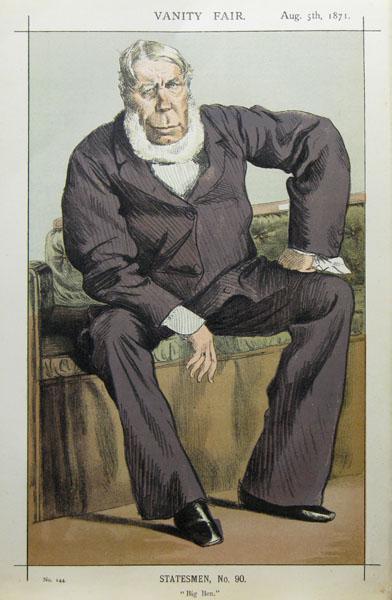 Caricature of George William Pierrepont Bentinck M.P. - James Tissot