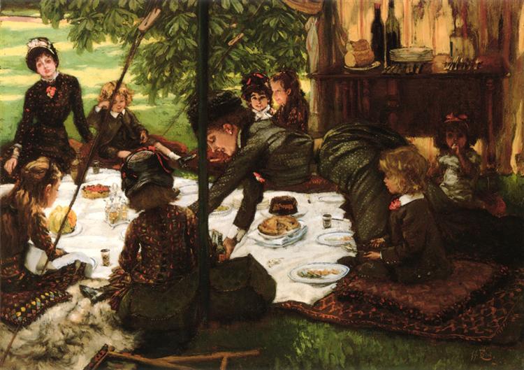 Children's Party, c.1881 - c.1882 - James Tissot