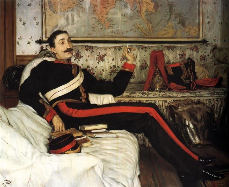 Colonel Frederick Gustavus Barnaby, 1870 - James Tissot