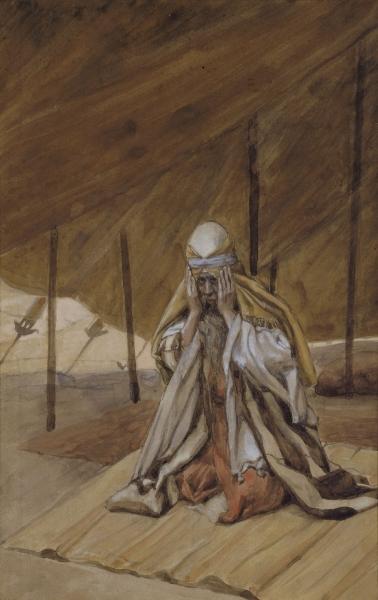 God Renews His Promises to Abraham, c.1896 - c.1902 - James Tissot