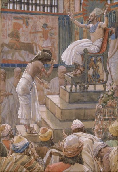 Joseph and His Brethren Welcomed by Pharaoh - James Tissot