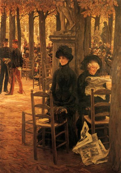 Letter with Hats - James Tissot