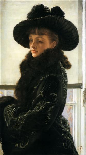 Mavourneen (Portrait of Kathleen Newton), 1877 - James Tissot