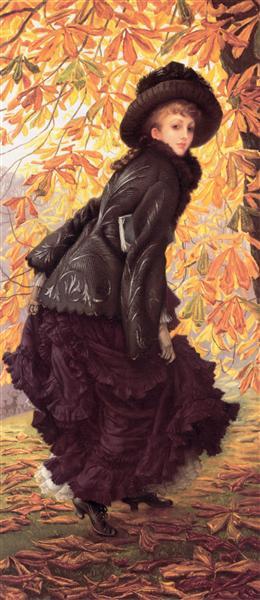 October, c.1878 - James Tissot
