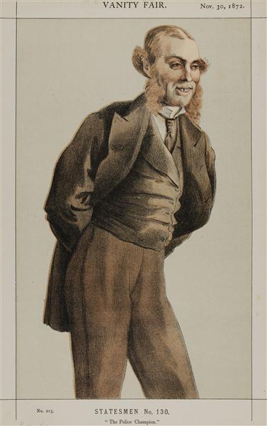 Statesmen No.1300 Caricature of Mr Roger Eykyn, Liberal M.P. for Windsor - James Tissot
